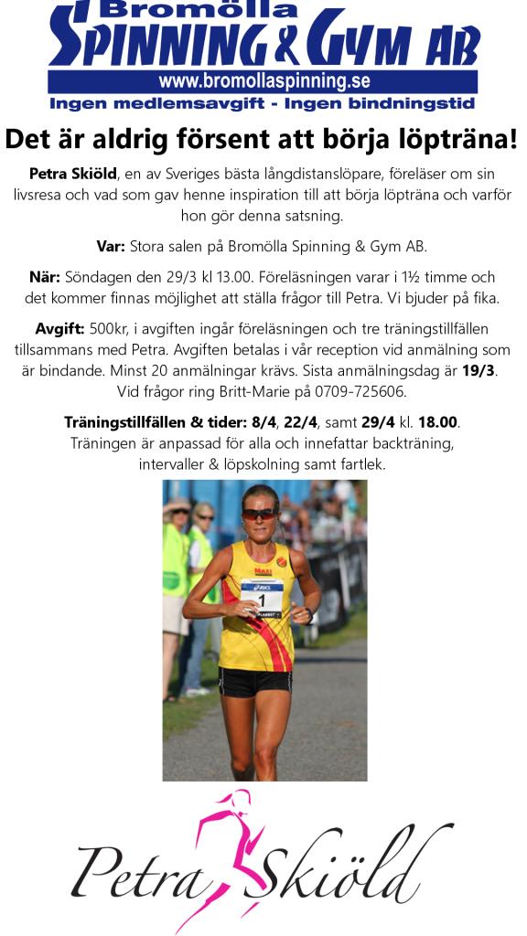 Petra Skiöld Föreläsning Stående